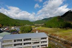 遠阪小学校空撮